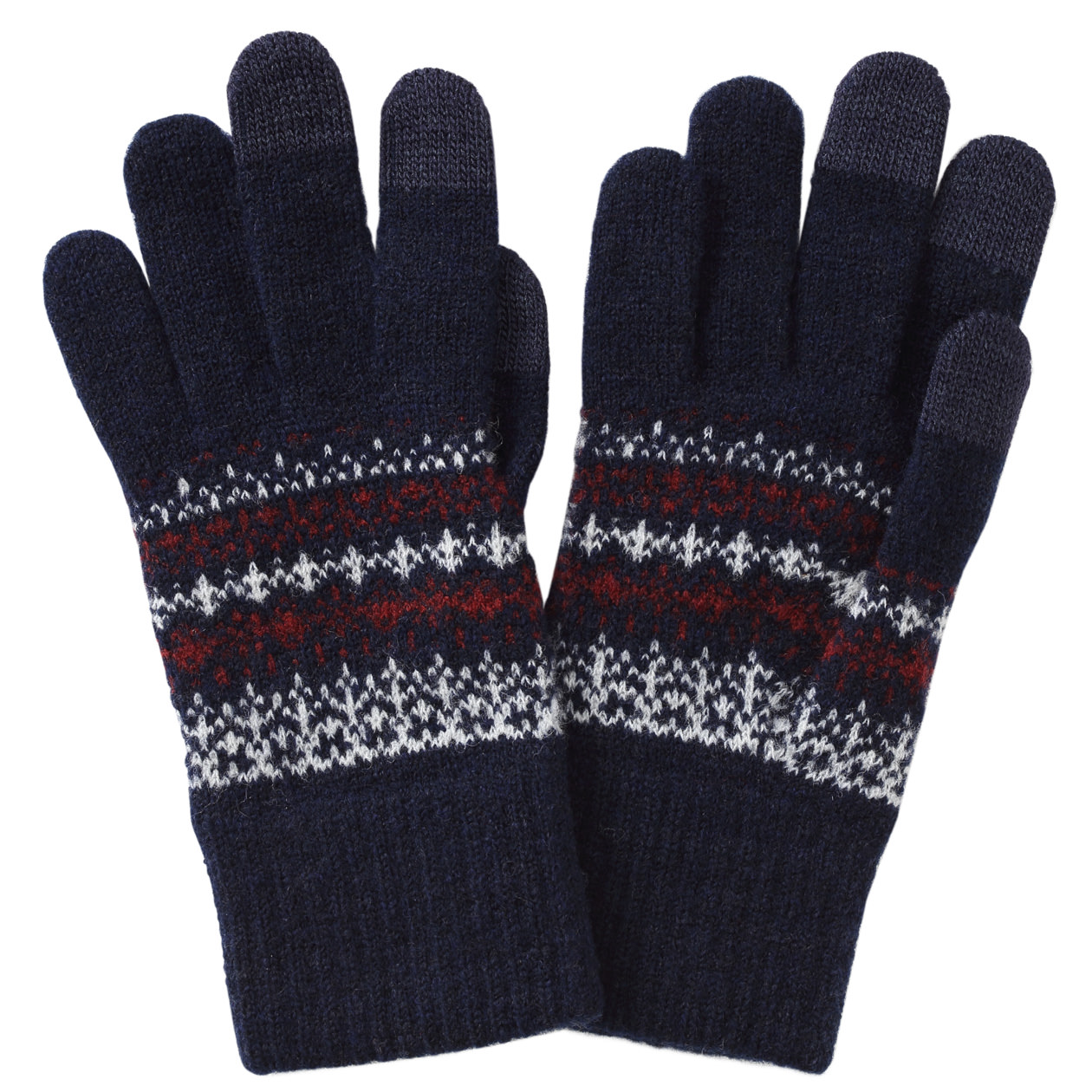 Wool Mixed Inside Brush Touch Panel Gloves U.P. $23 (Less 10%)