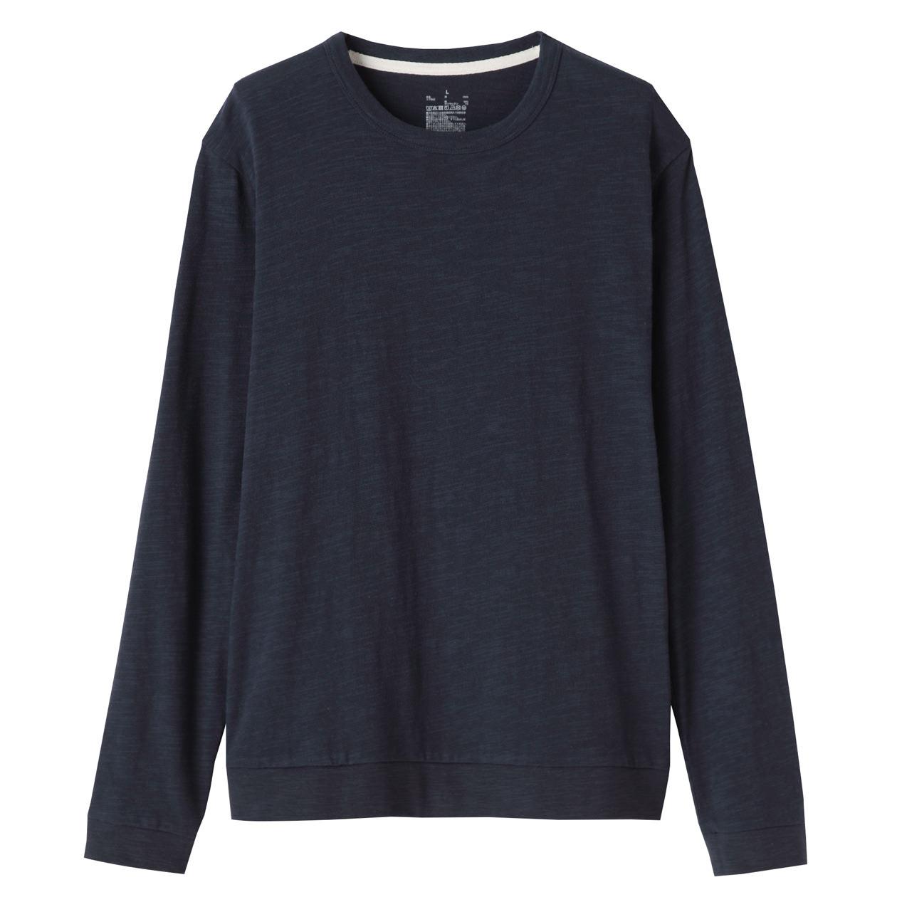 Organic Cotton Long-Sleeve T-shirt, U.P. $19.90-$29 (Any 2 Less 10%)