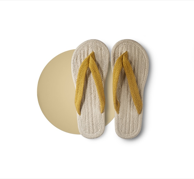 Indian Cotton Thong Sandals, Less 10% (U.P. $9.90)