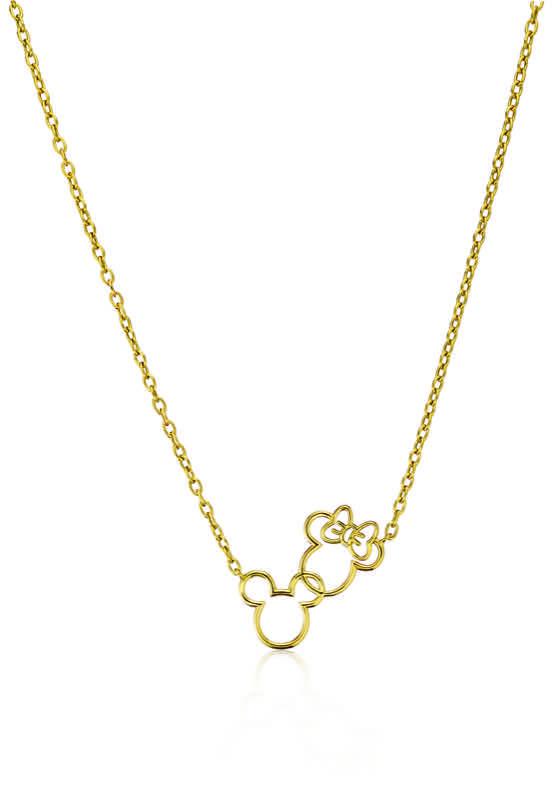 Oh It's Mickey & Minnie Necklace (S$1,800)