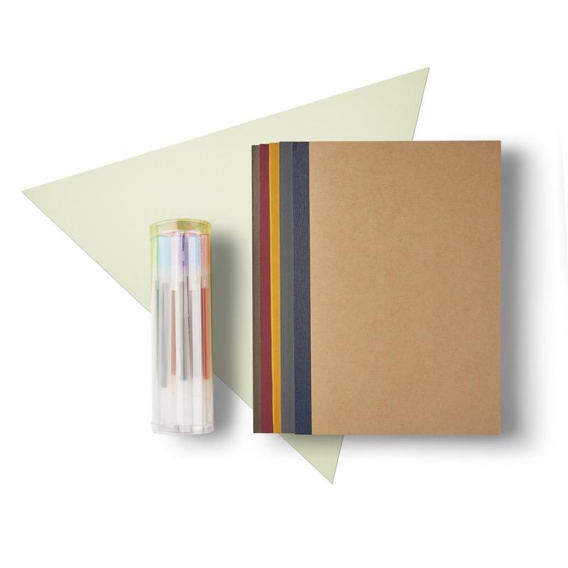 Notebook & Gel Ink Pen Set, $15.90 (U.P. $19.20)