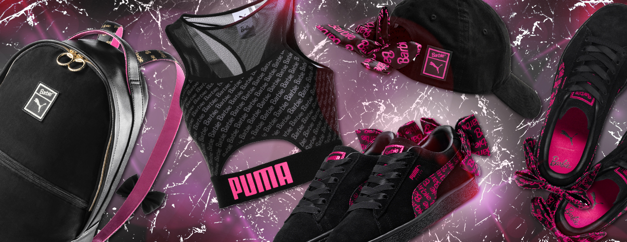 29cd6a30efa Puma x Barbie Suede 50 Collab  From Dressing Barbie To Dressing Ourselves…