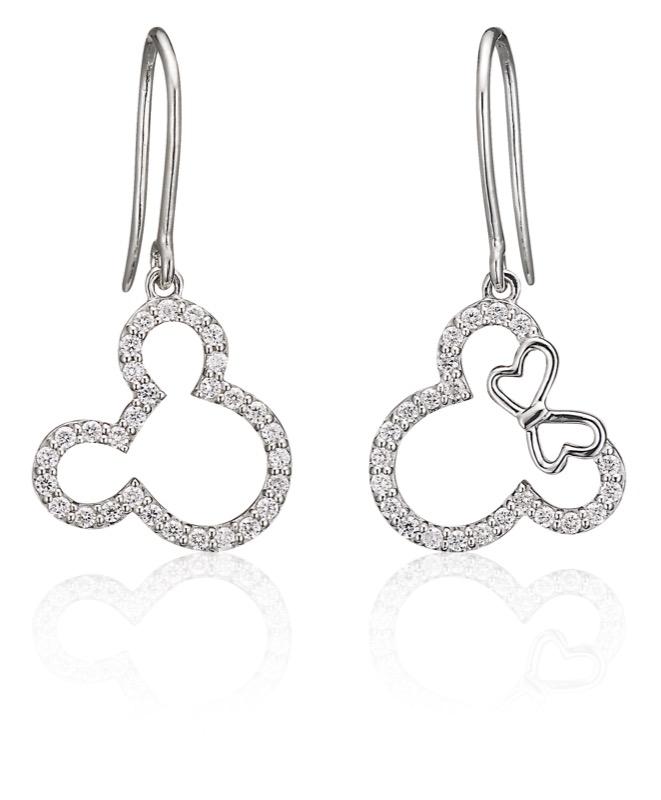 Shine Like Mickey & Minnie Earrings (S$1,300)