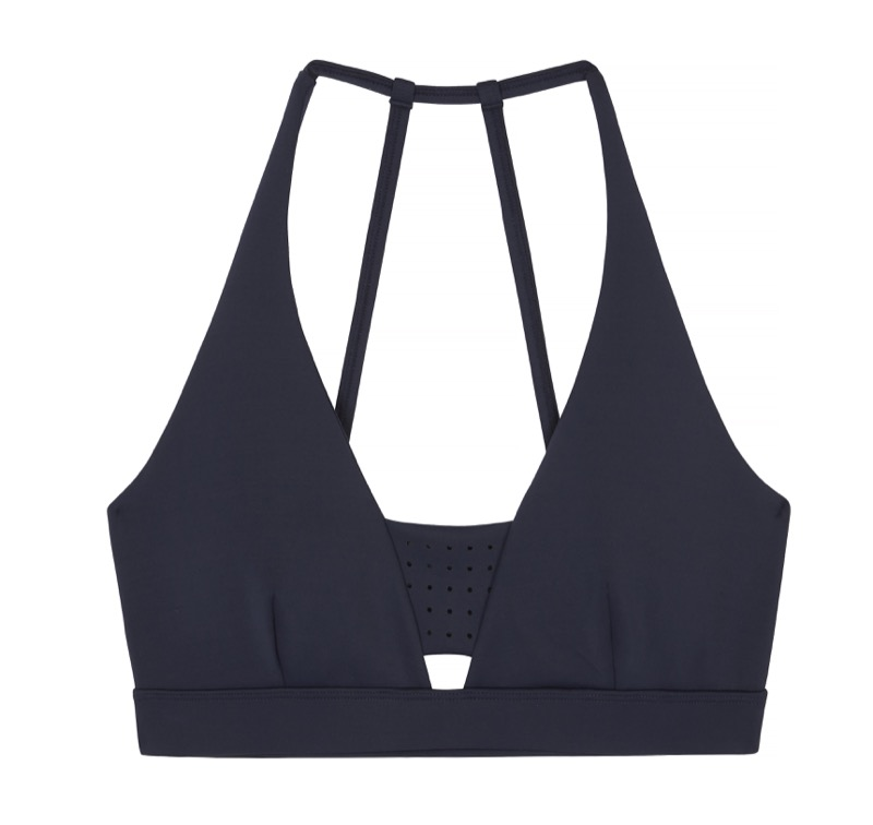 Light Support Sports Bra With Perforated Insert