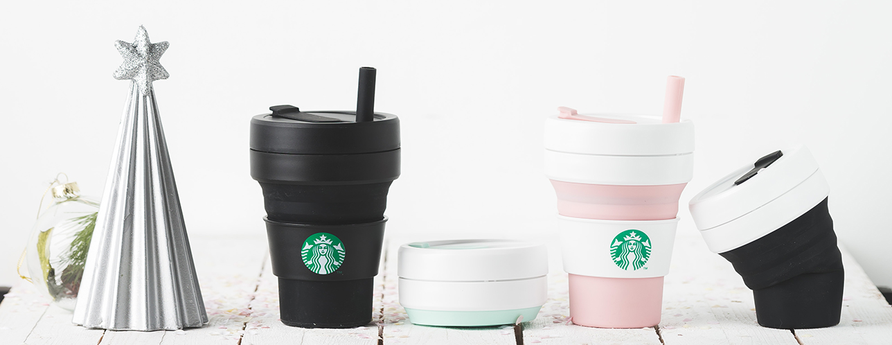 Starbucks Goes Green With Collapsible Sippy Cups And