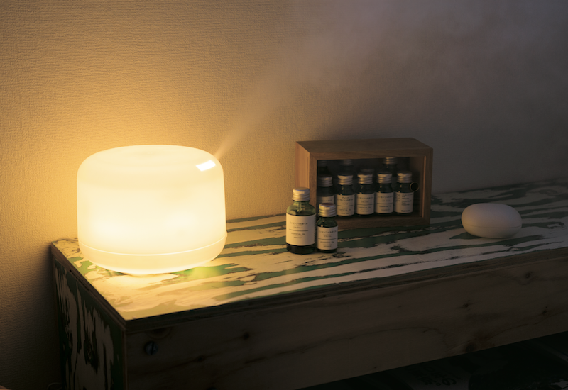 Large Aroma Diffuser & Selected Essential Oil Set ($149)