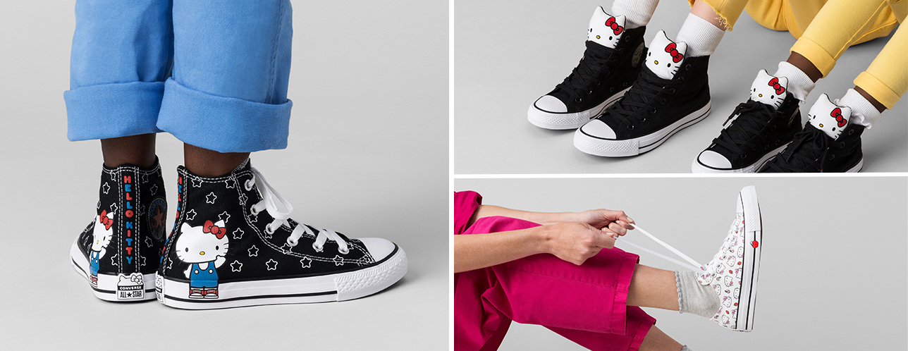 Converse Drops Another Edgy Yet Adorable Hello Kitty Sneaker Collection bf4b01da2b