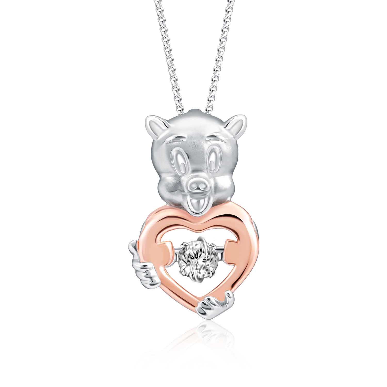 With Love Porky Diamond Pendant ($469)