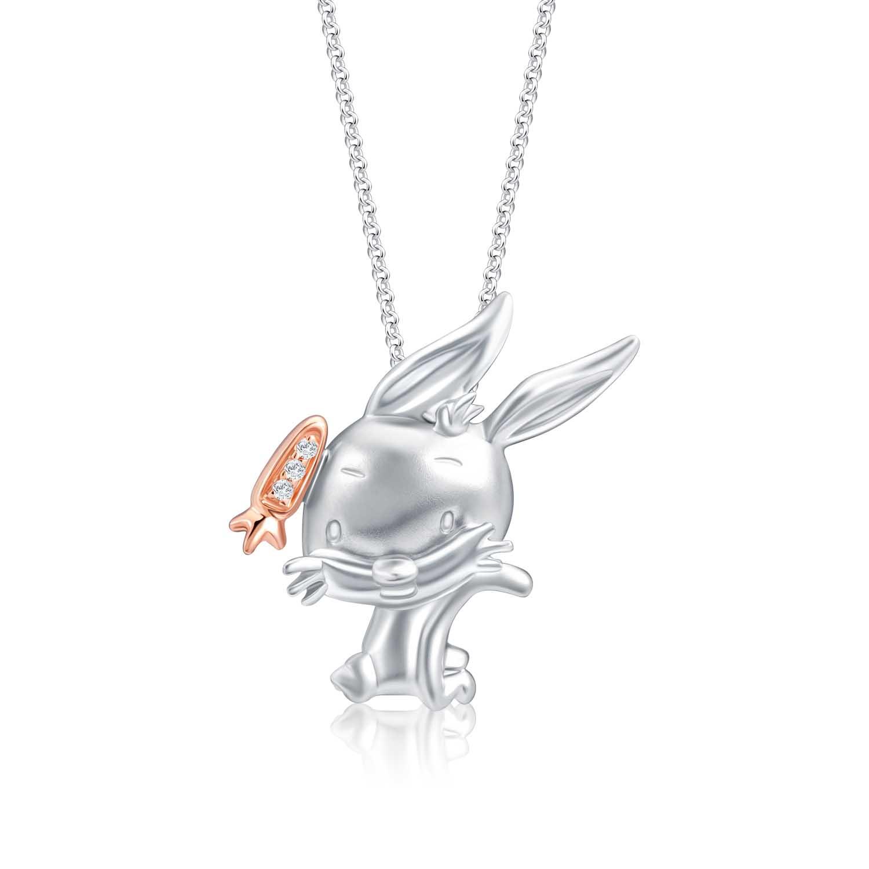 Chibi Carrot Diamond Pendant ($299)