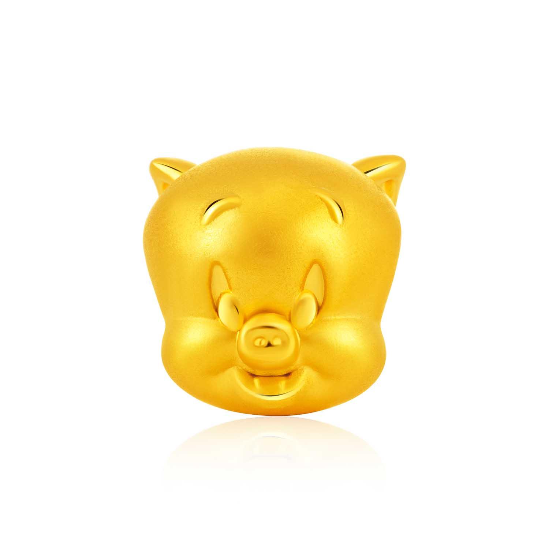 999 Pure Gold Porky Pig Charm ($269)