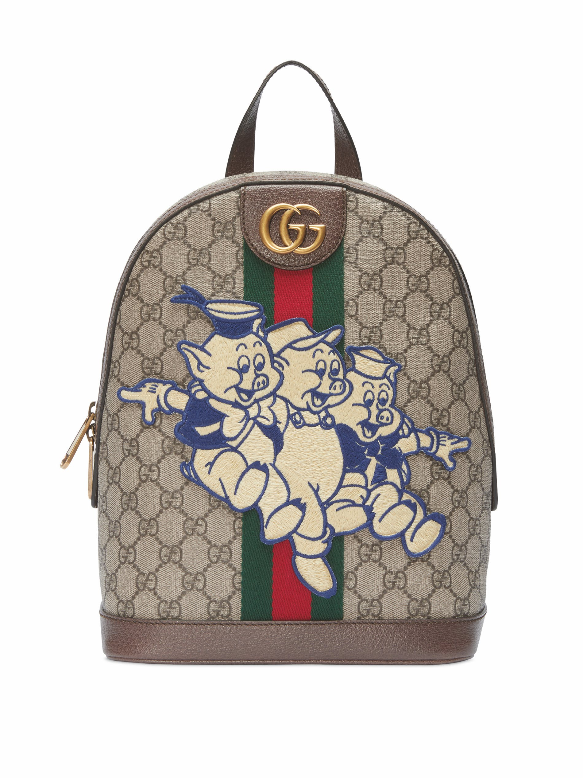 GucciOphidia GG backpack with Three Little Pigs, US$ 1,690