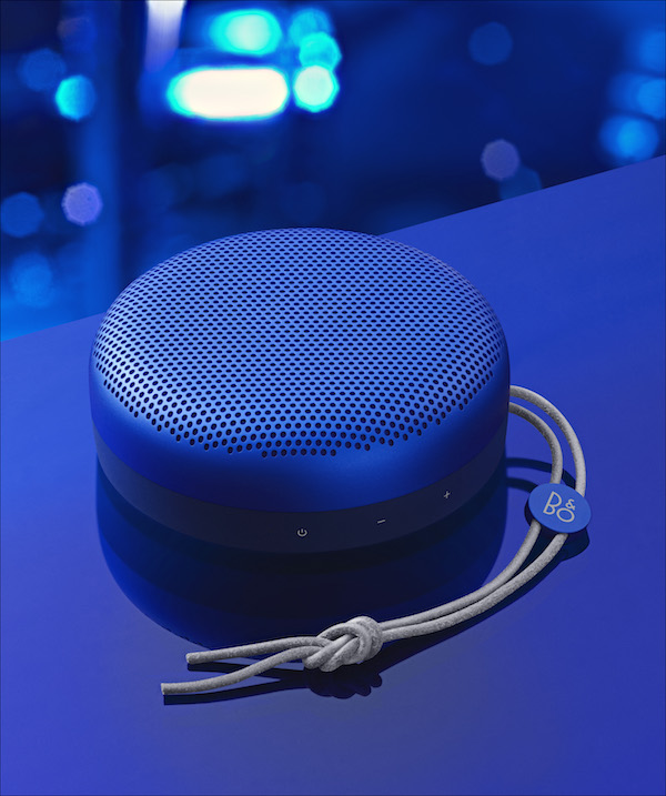 Beoplay A1 Late Night Blue Ultra-Portable Bluetooth Speaker ($400)