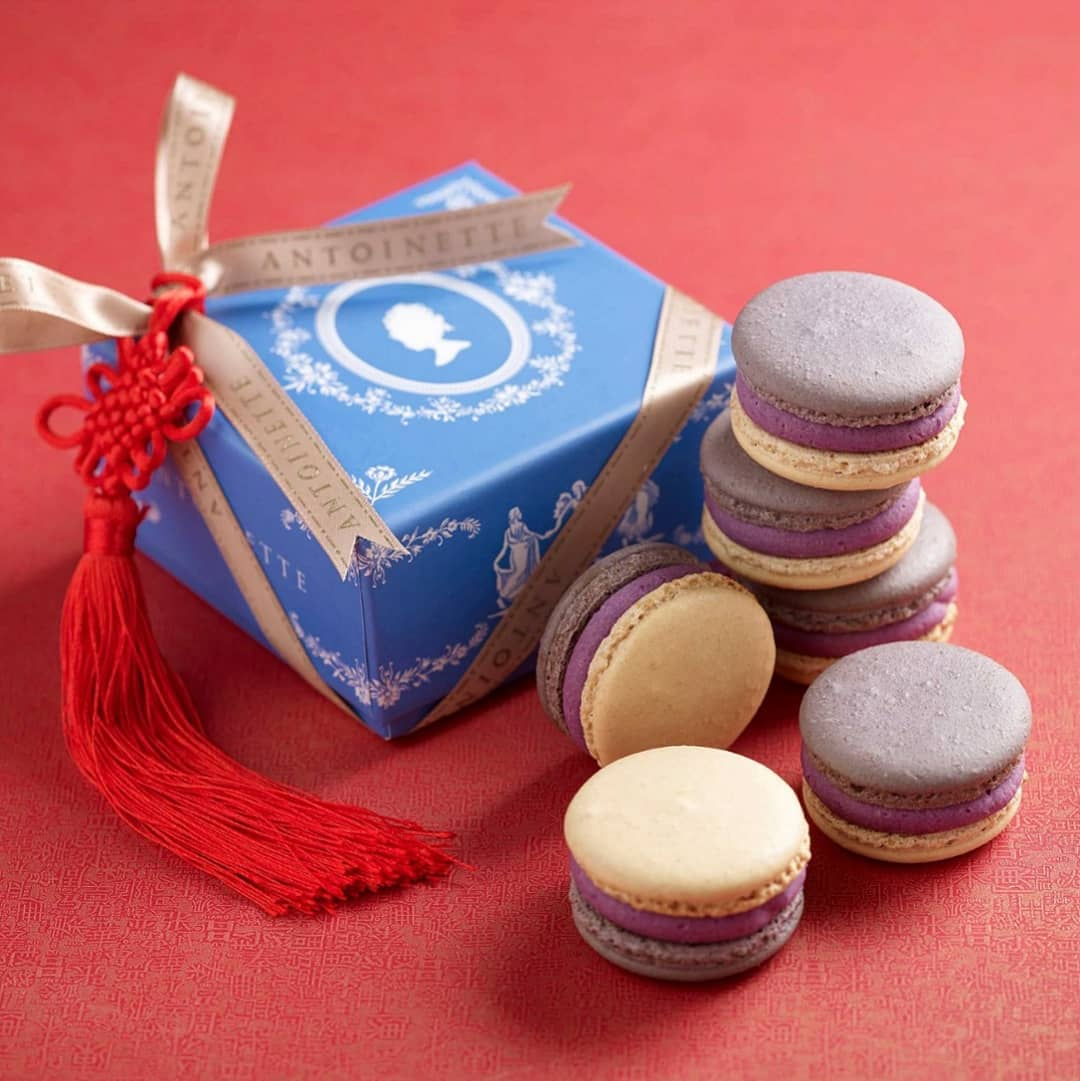 Purplelette Macarons ($3/pc)