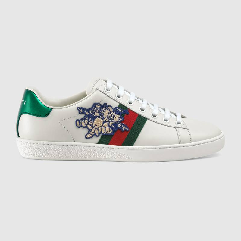 Women's Ace sneaker with Three Little Pigs