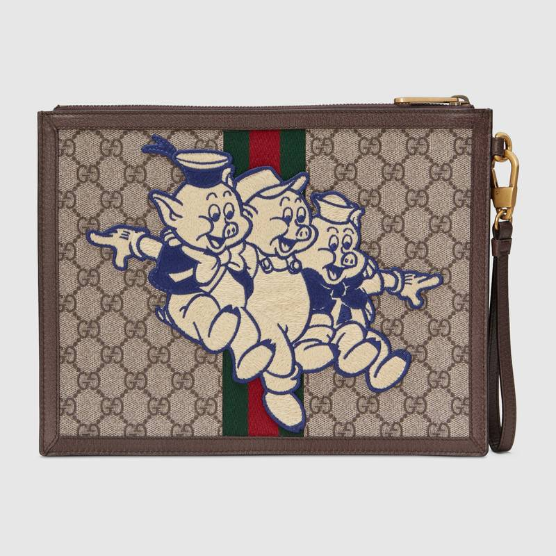 GG Supreme pouch with Three Little Pigs