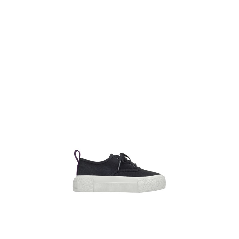 Canvas Sneaker (Black), $54.95