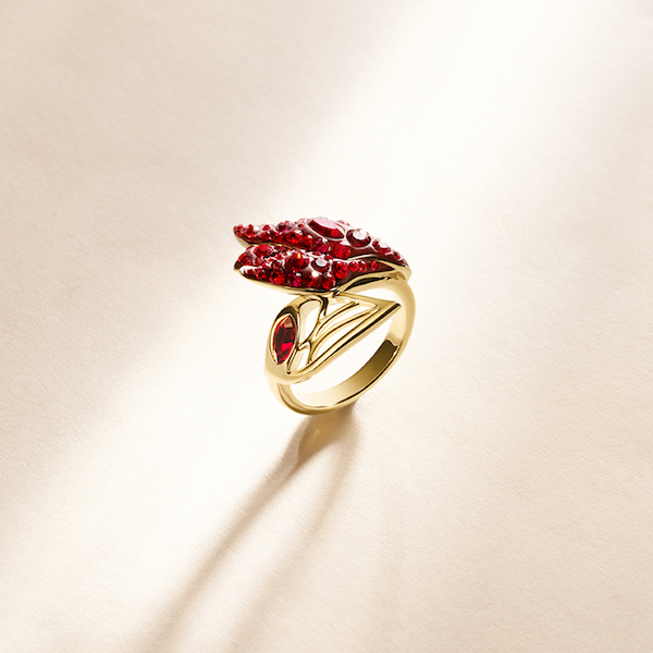 Graceful Bloom Ring in Siam ($249)