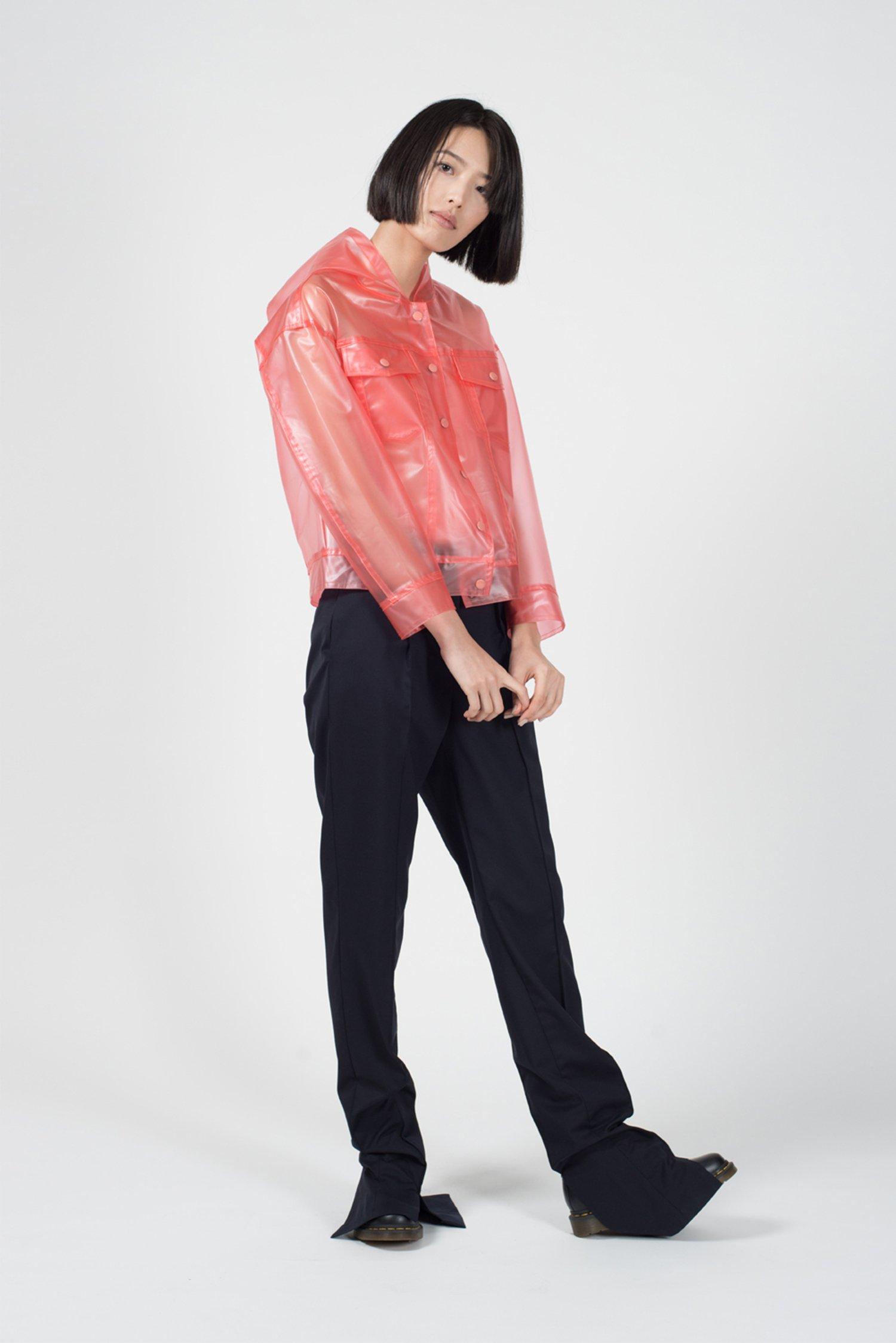 GINLEE Studio Fog Raincoat, $205.20