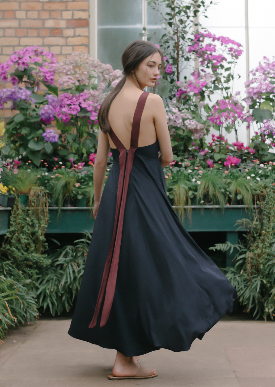 Esse The Label Strappy Lowback Maxi Dress, $145