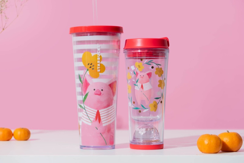 Left to right: Cold Cup 24oz ($29.90), Tumbler 12oz ($26.90)