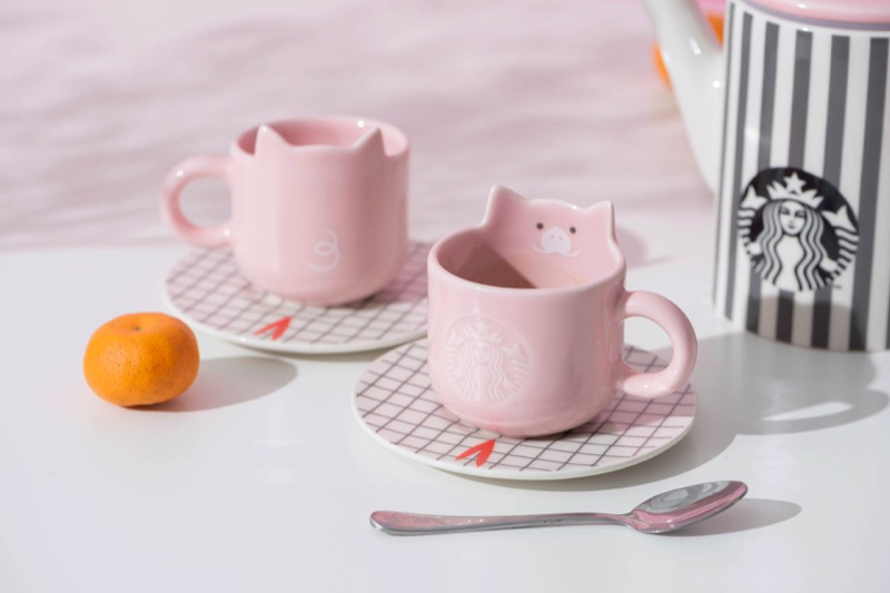 Mug & saucer set 3oz ($24.90 — Only available at selected stores)