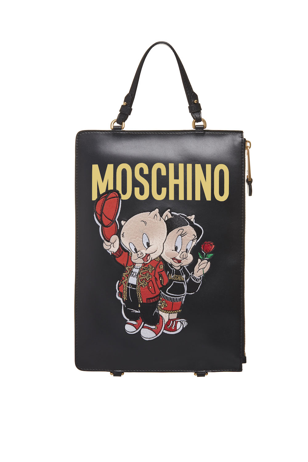 Moschino Chinese New Year Clutch Backpack, $1,330