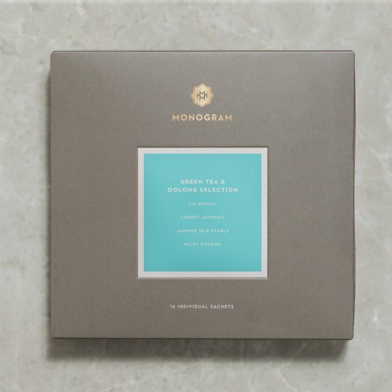 Monogram Tea Green Tea & Oolong Selection, $21.50
