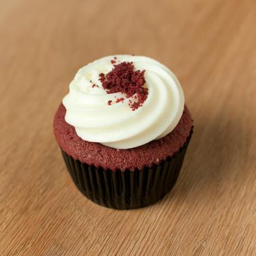 Plain Vanilla Bakery Red Velvet Cupcake