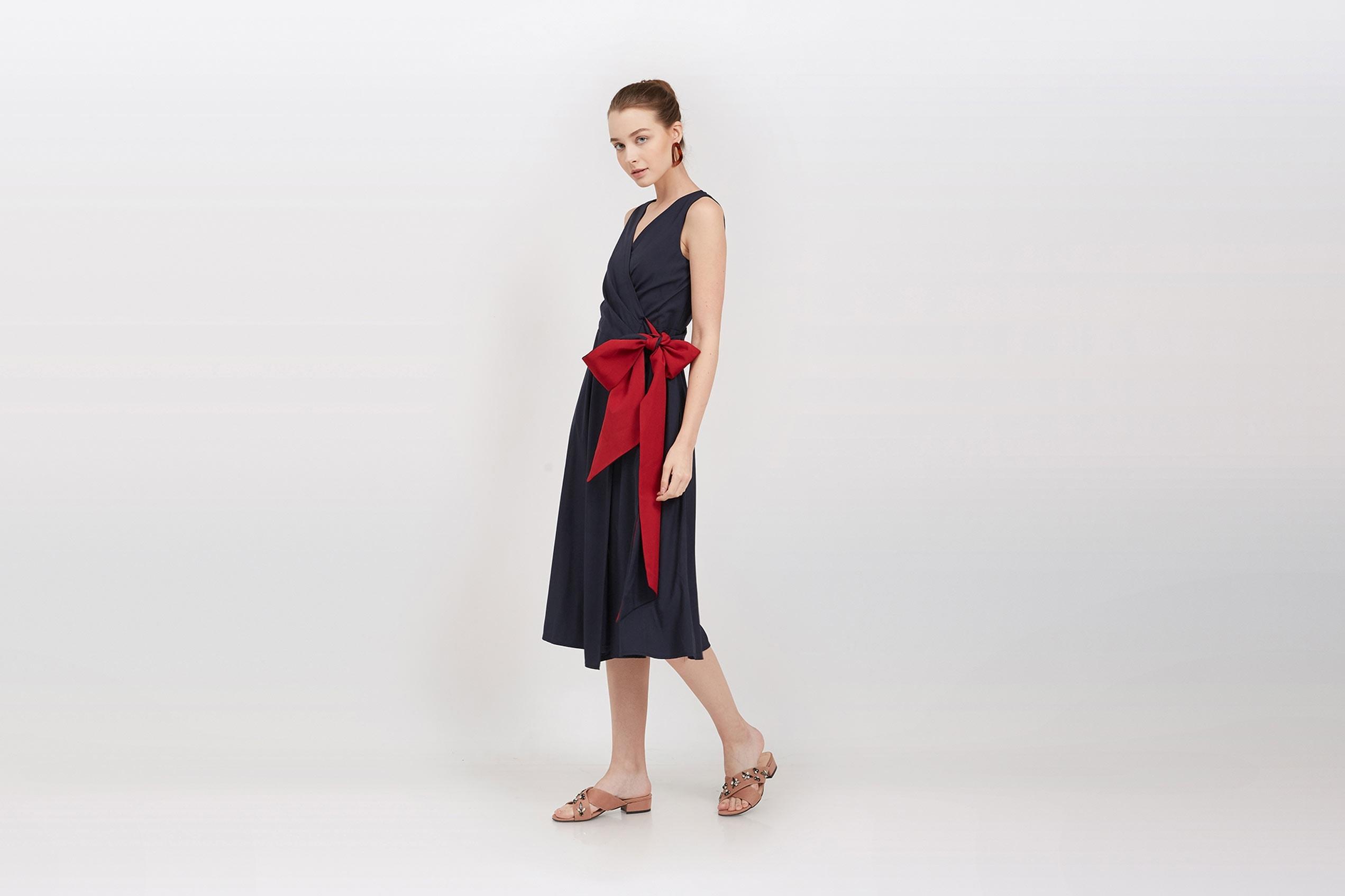 QLOTHÈ Estelle Wrap Dress, $69
