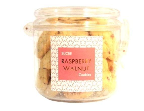 SUCRE Raspberry Walnut Butter Melts, $23.80