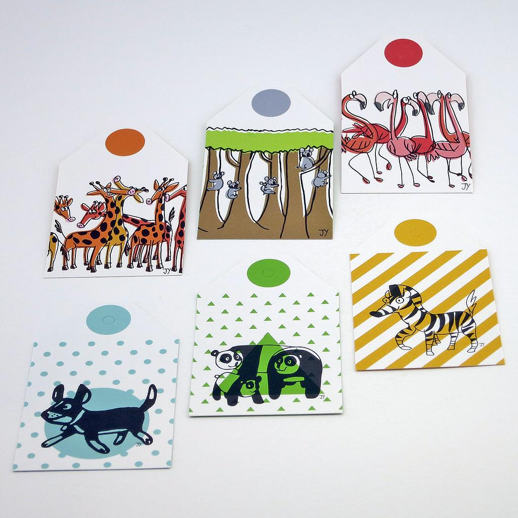 The Animal Project Gift Tags (set of 6), $4.90