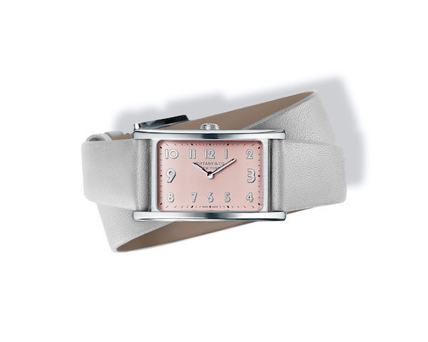 Tiffany East West® Mini 2-Hand 37 x 22 mm Watch in Stainless Steel ($5450)