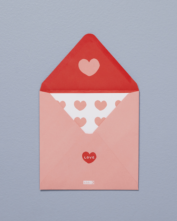 Greeting Card Hearts With Love ($5.90)