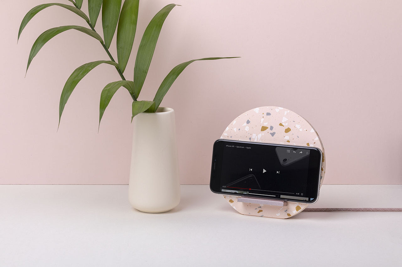 Native Union Dock Wireless Charger Terrazzo Edition