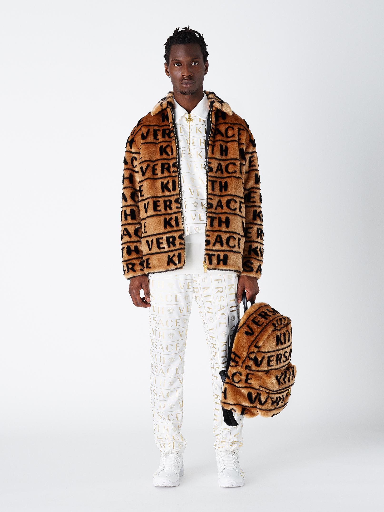 Kith X Versace Fur Jacket