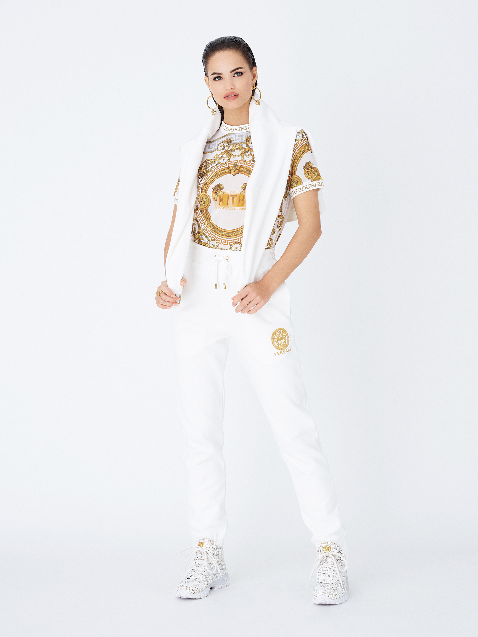Kith Women X Versace Mesh Top, $475