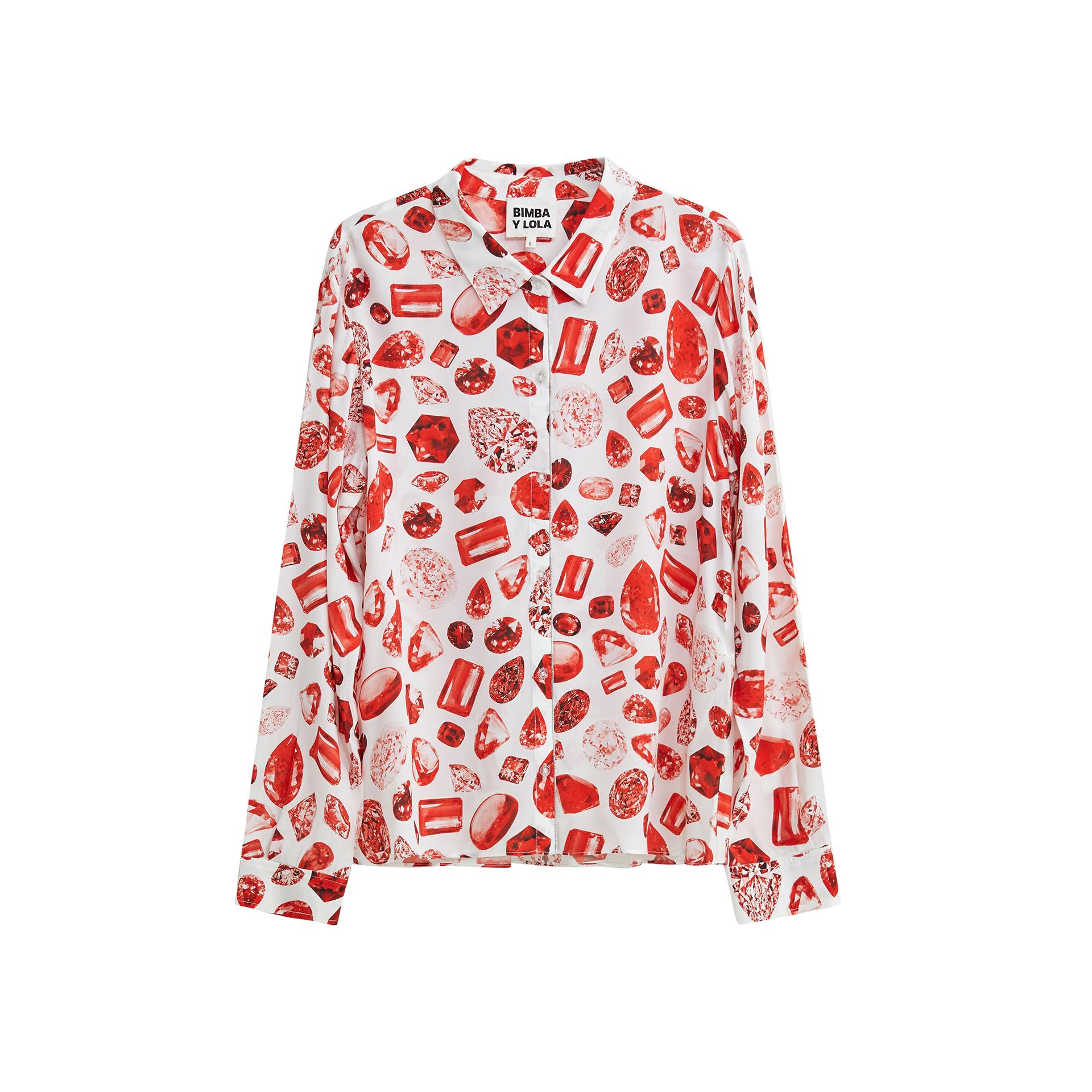 Valentine's Print Shirt, $227