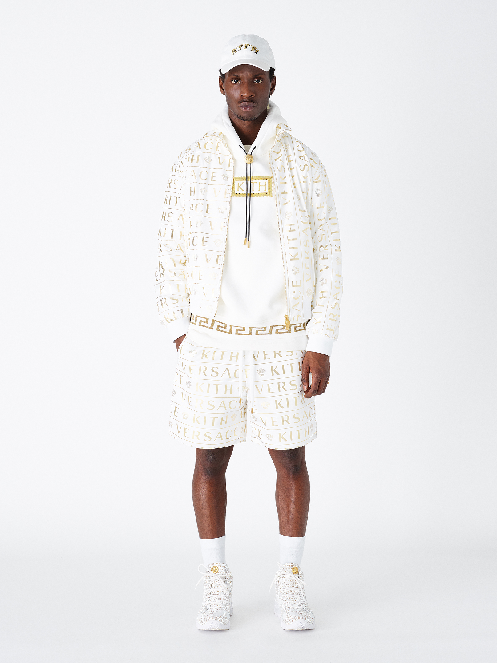 Kith X Versace Monogram Track Jacket, $1,595