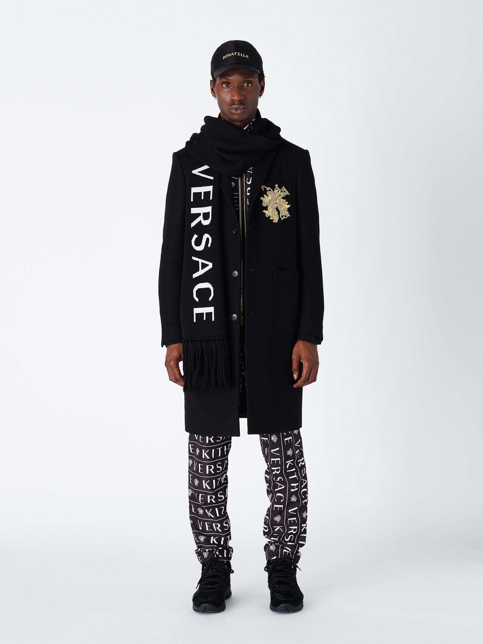 Kith X Versace Long Logo Jacket