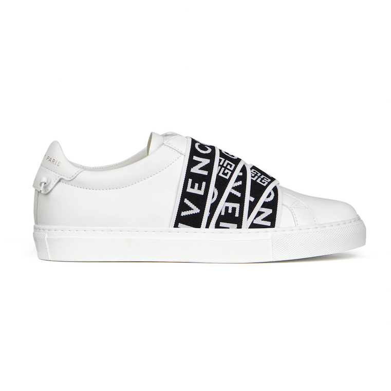Givenchy 4G Webbing Sneakers in Leather ($1050)