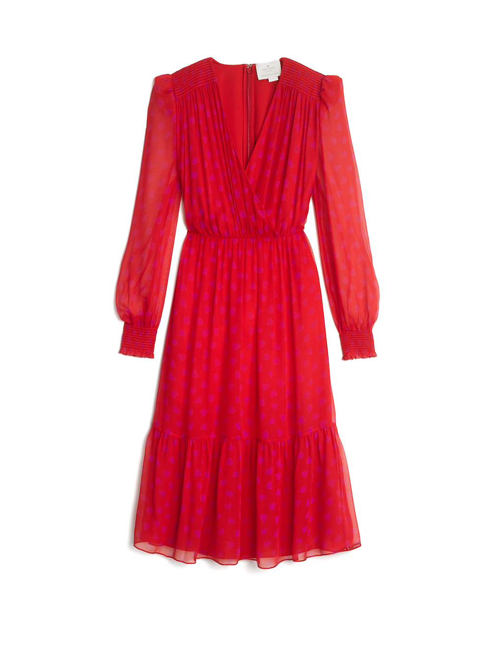 Kate Spade New York Heartbeat Silk Midi Dress ($800)