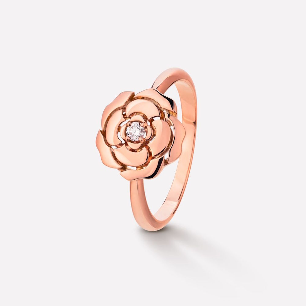 Chanel Extrait De Camelia Ring (USD$3300)