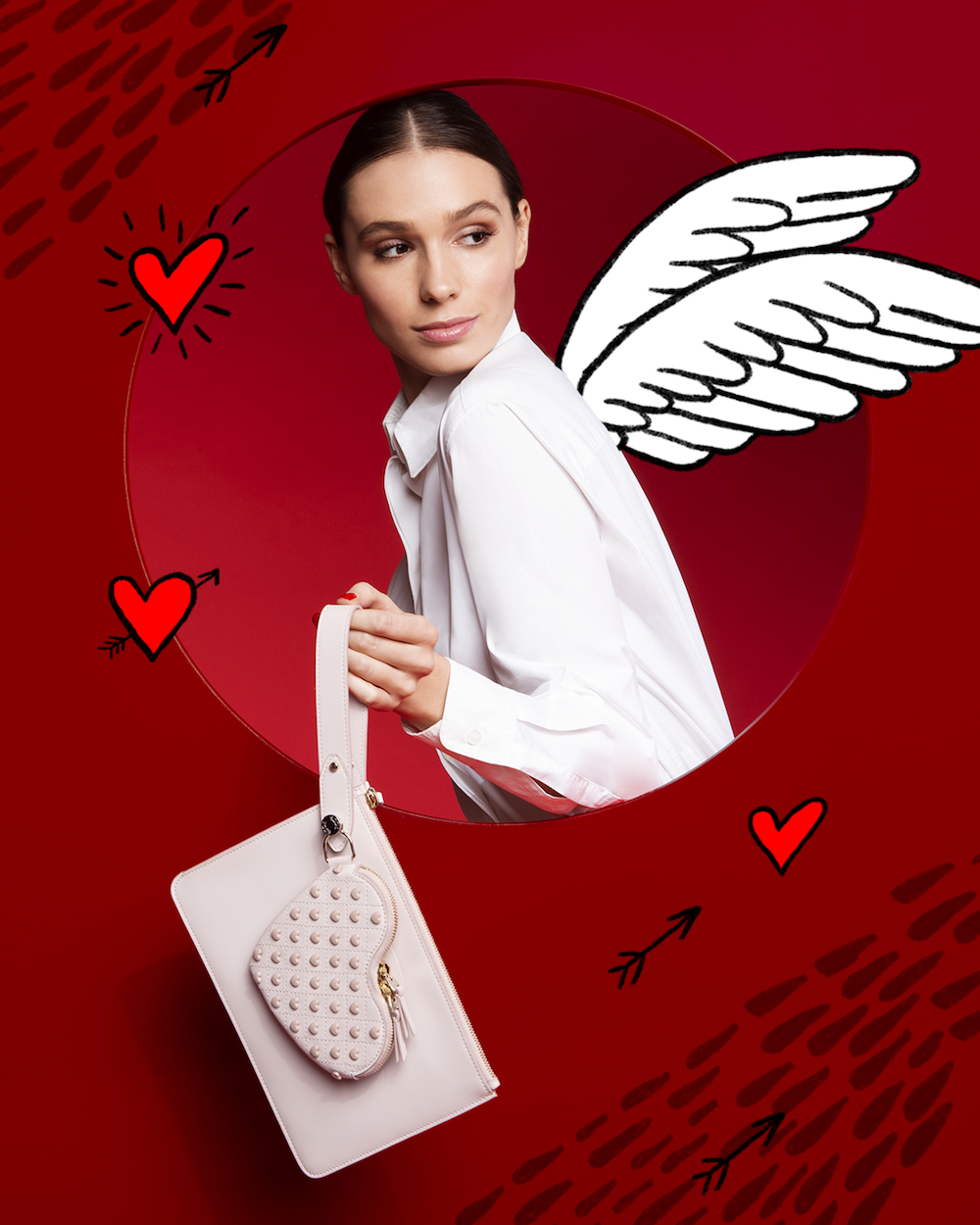 TOD'S Heart Shaped Coin Pouch ($1140)