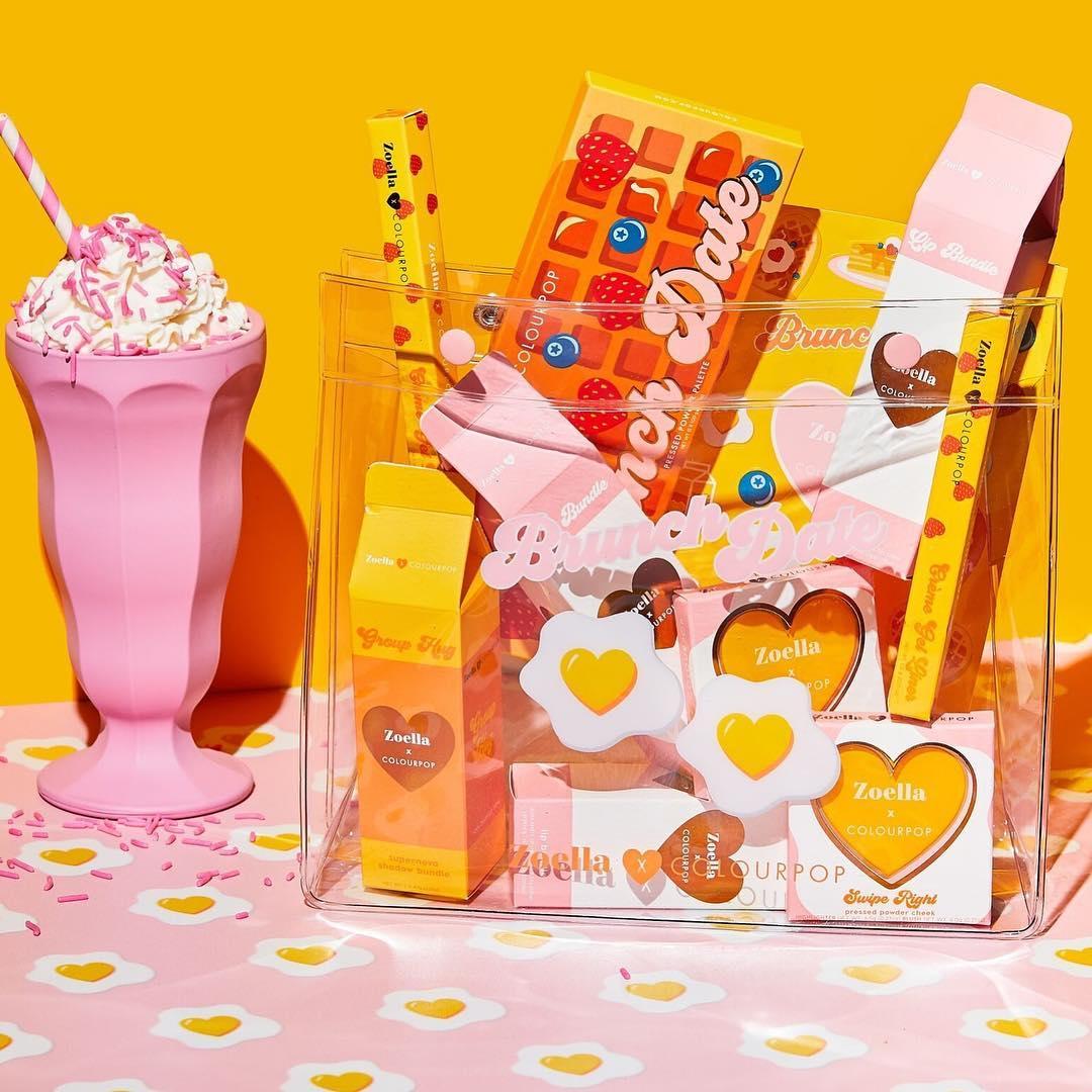 Zoella x Colourpop Full Collection