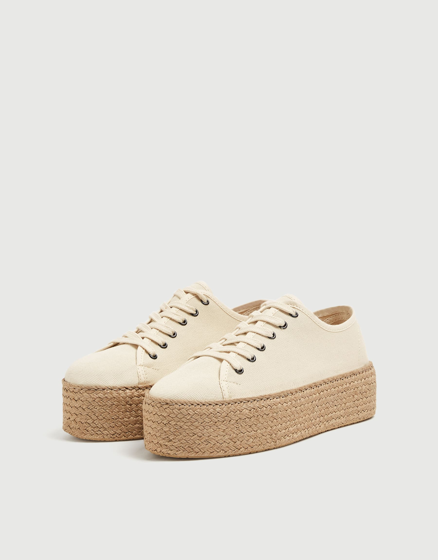 Sadie Sink Join Life Chunky Jute Sole Trainers, $69.90
