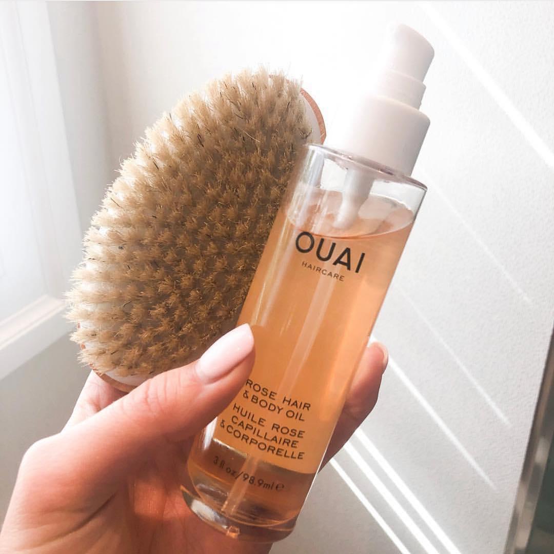 OUAI Rose Hair And Body Oil