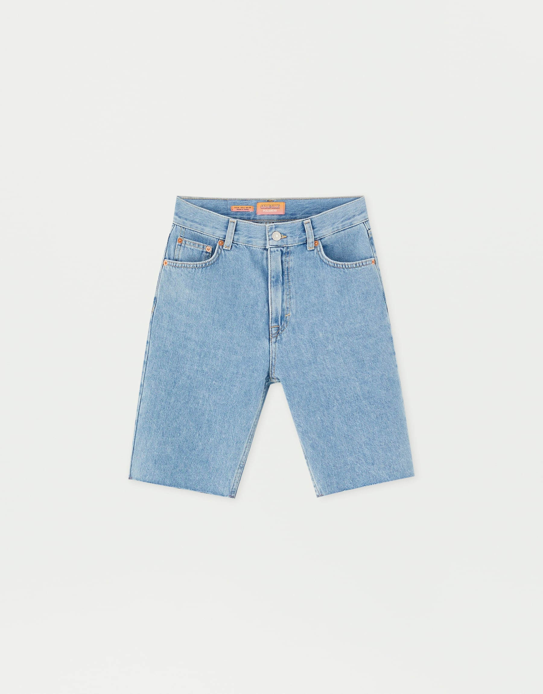Sadie Sink Denim Bermudas, $45.90