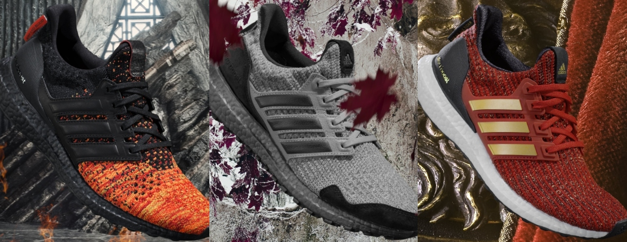Winter Is Here With The Adidas X Game Of Thrones Ultraboost