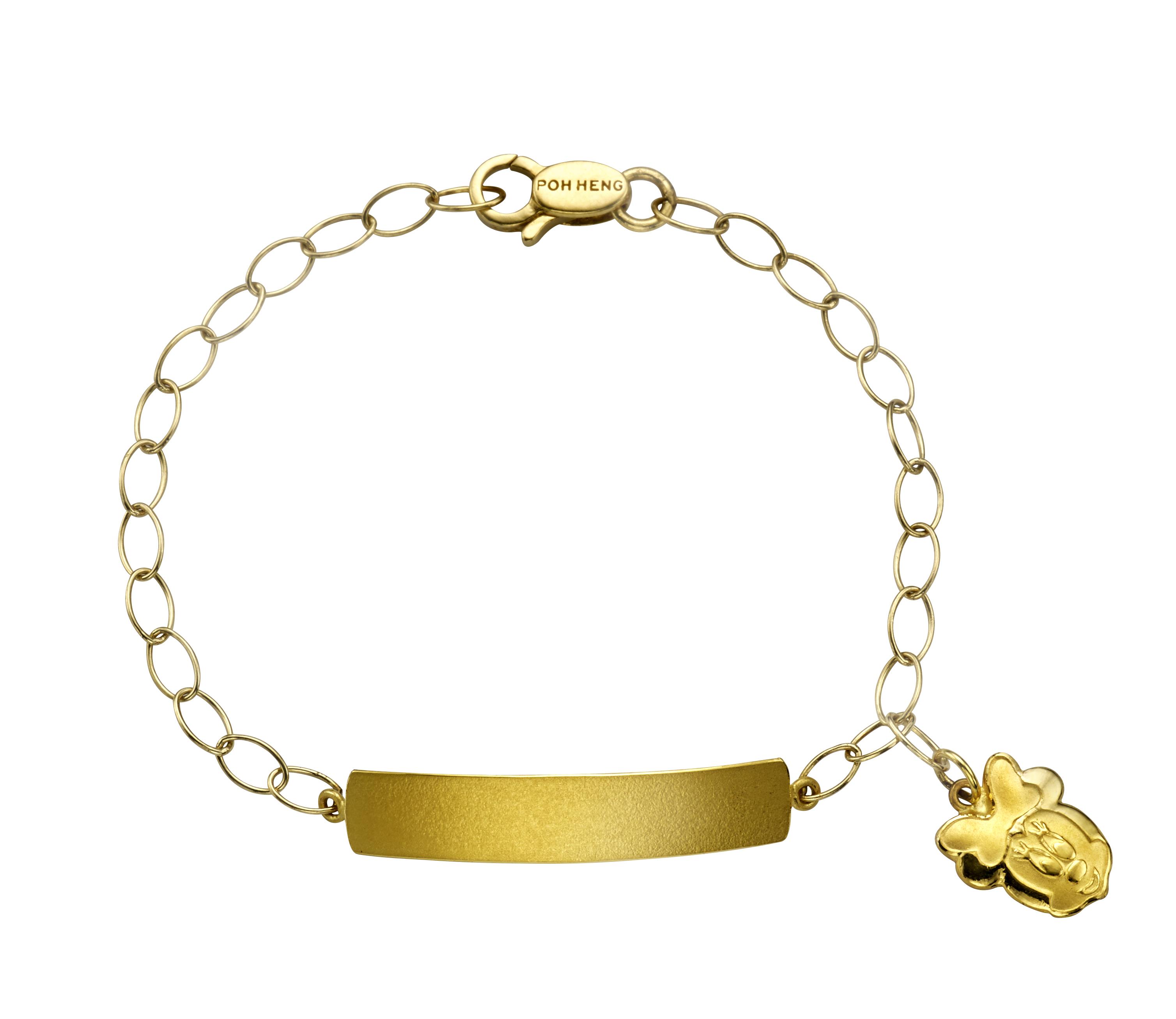 Classic Baby Minnie Name Bracelet