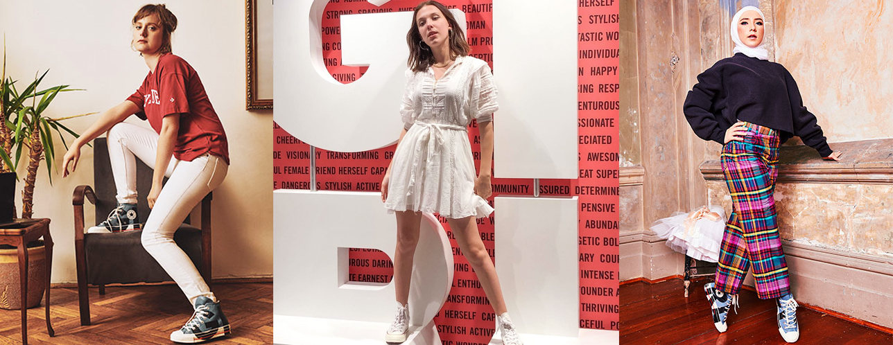 Redefine What A 'GIRL' Is With Converse